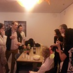 Drinks in the 7th floor Common Room