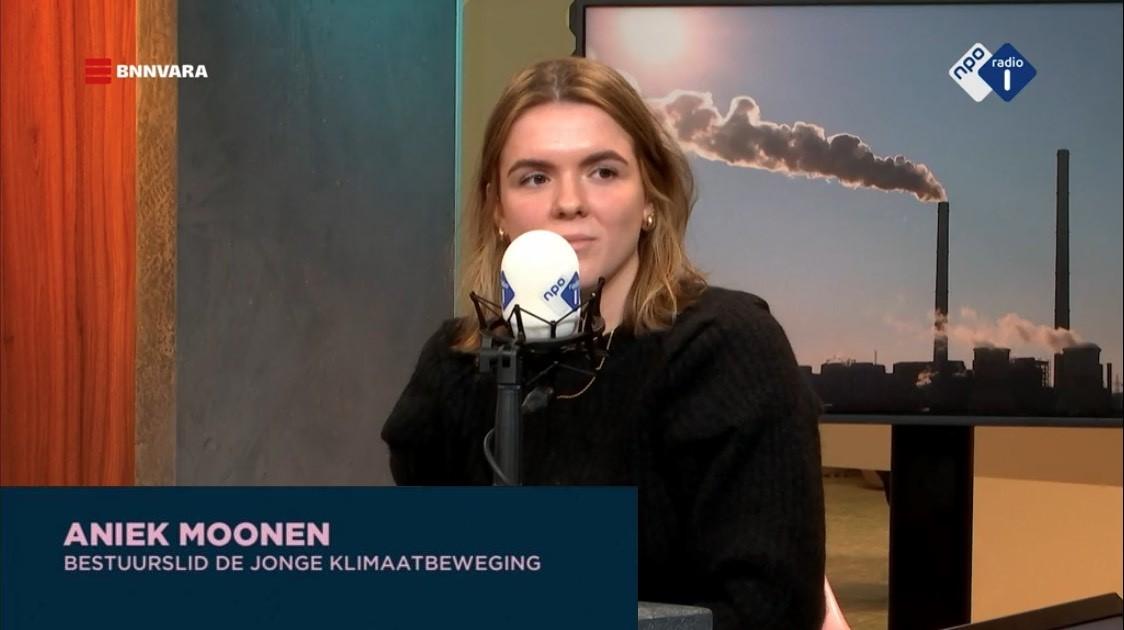 "Aniek at Niews BV (NPO1, Dutch National TV), talking about ""5 years past Paris"""